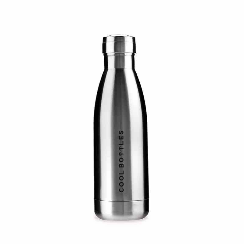 Botella TERMO METALLIC SILVER