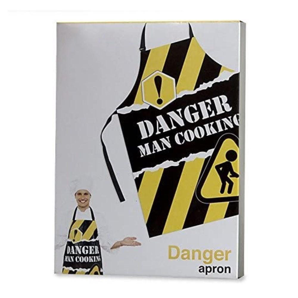 Delantal DANGER Man Cooking