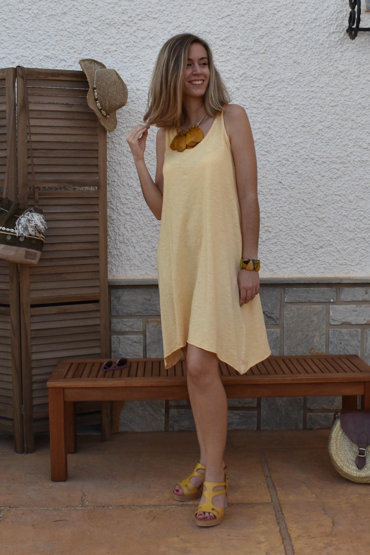 Vestido ARNIKA AMARILLO