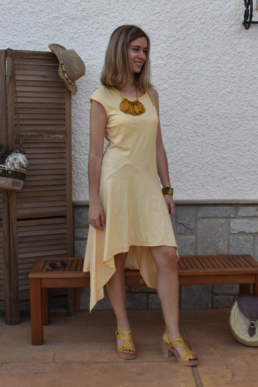 Vestido MADISON AMARILLO