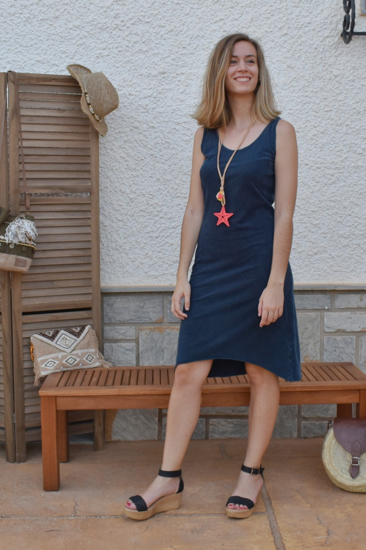 Vestido HARPER AZUL