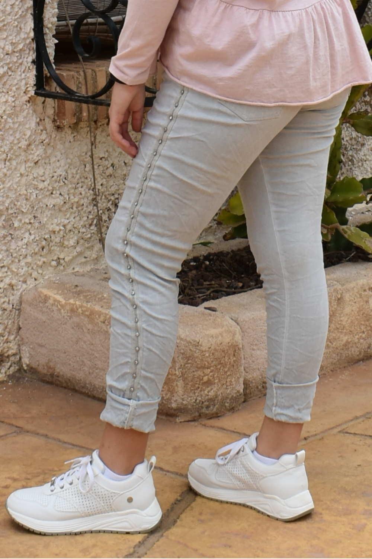 Pantalón ELASTICO GRIS