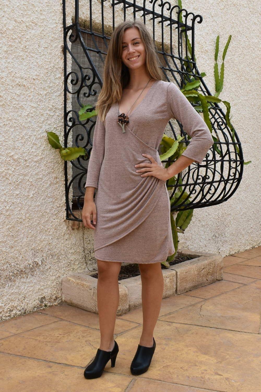 Vestido DELFINA ROSA