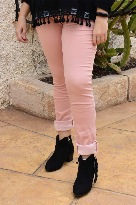 Pantalón rosa ANNLUCY