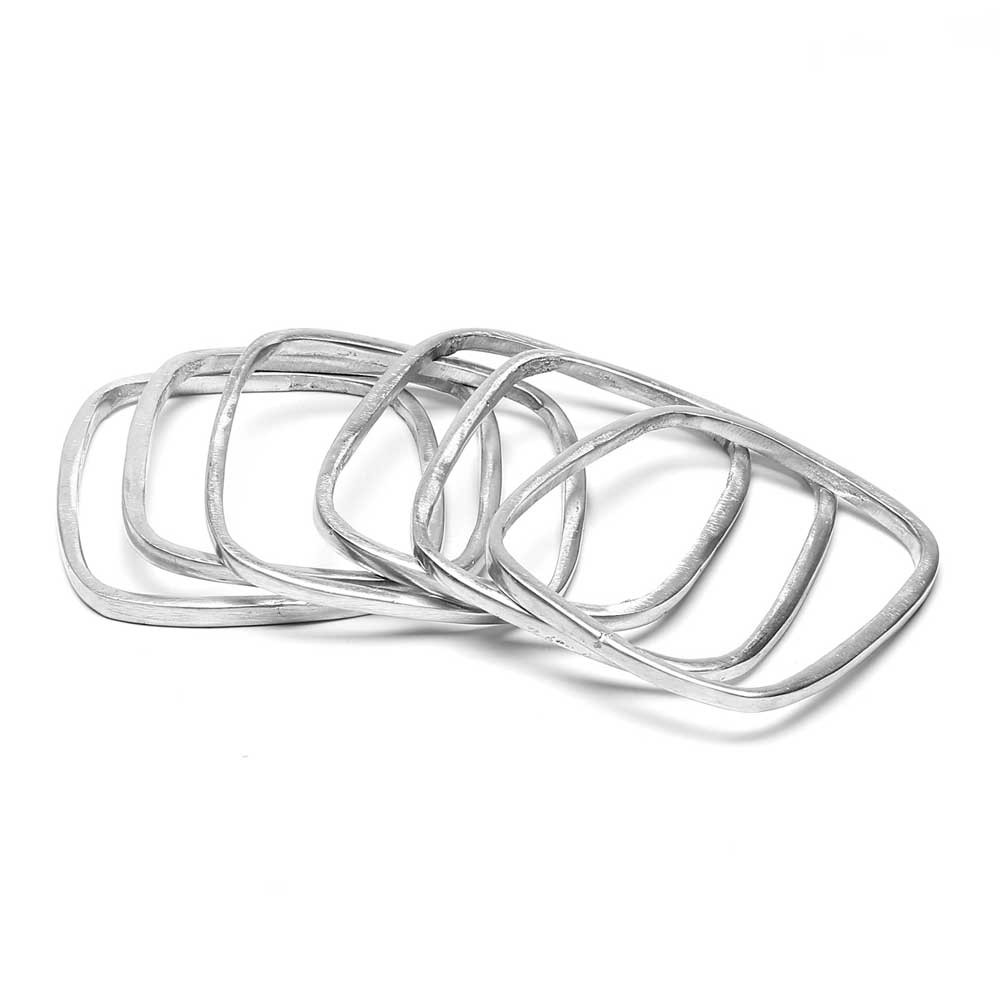 Juego de pulseras aluminio...