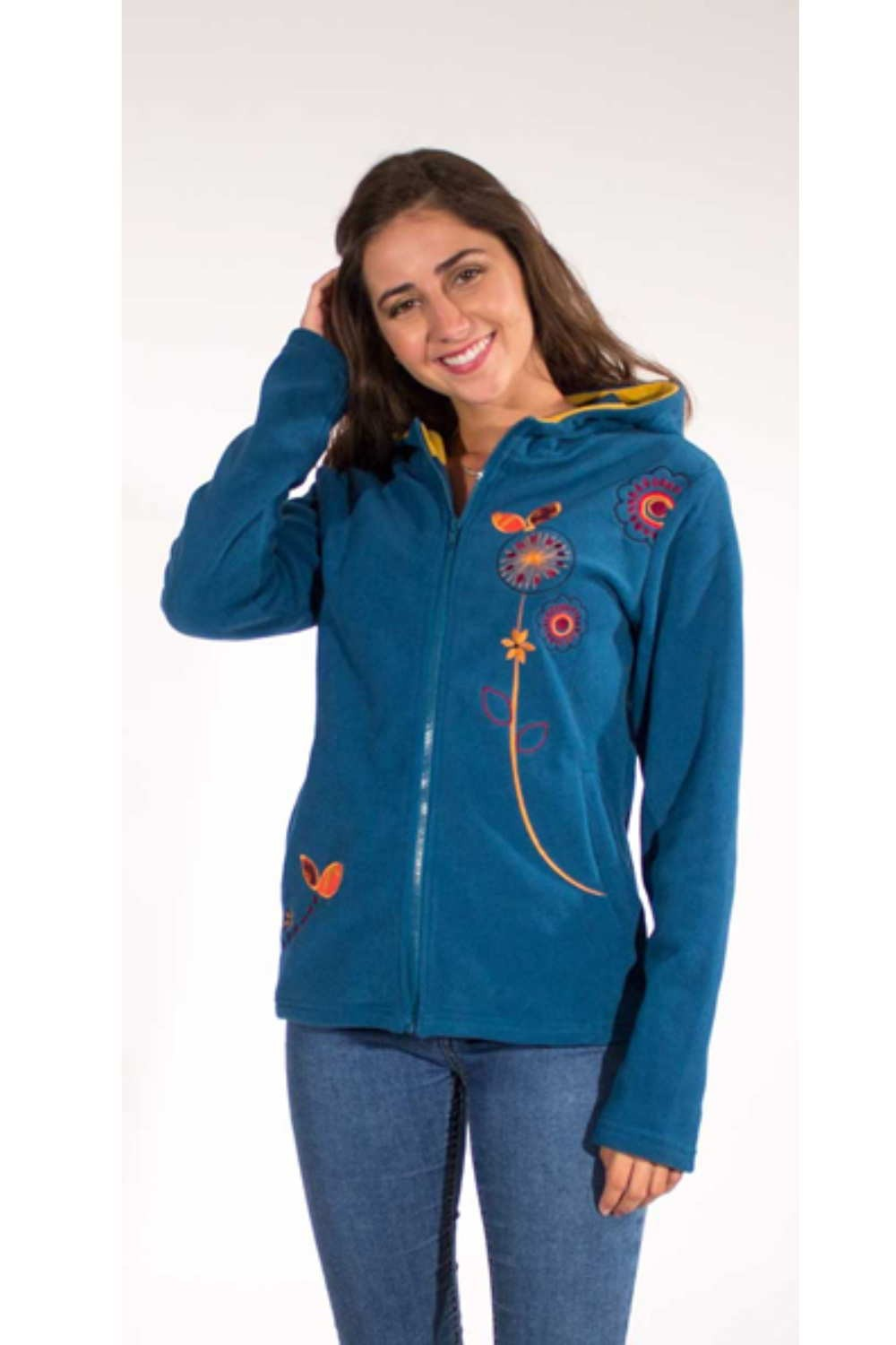 Chaqueta POLAR BORDADA