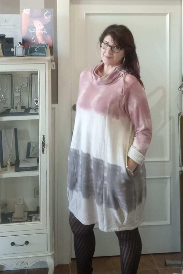 Vestido TRICOLOR DEGRADÉ