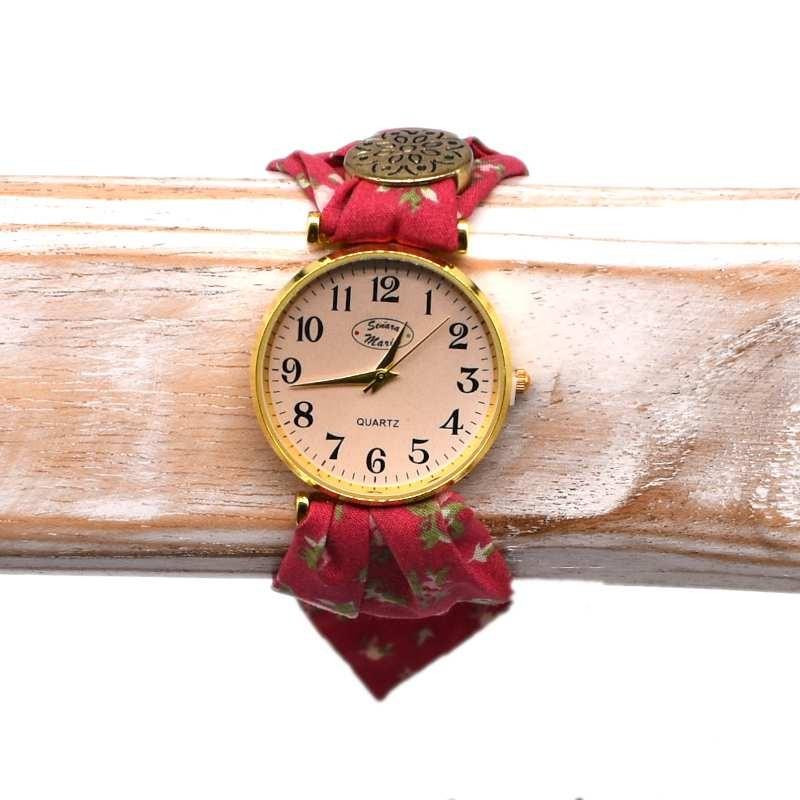 Reloj ROJO FLORES SEÑORA MARÍA